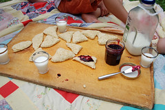 jam and scone picnic | by SouleMama