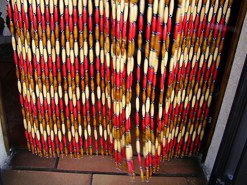 rideau en perles de buis rideaux buis provencaux wifeo flickr