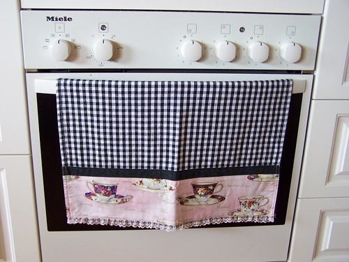 Black Kitchen Towel Bar