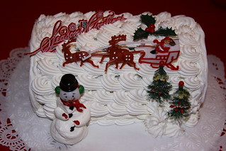 Christmas Cake 2008 | by Jim, the Photographer