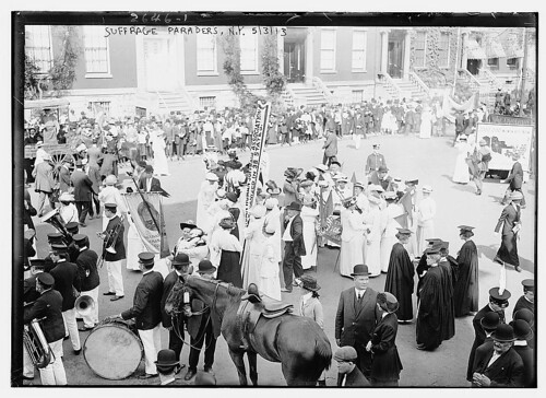 Suffrage Paraders, N.Y.  (LOC) | by The Library of Congress