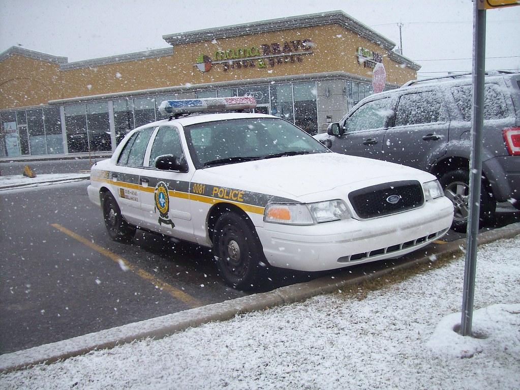 By Steve Brandon A Surete Du Quebec Ford Crown Victoria Police Interceptor By Steve Brandon