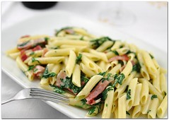 Penne speck e rucola | by paPisc