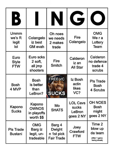 RaptorsFansBingo | by basketbawful