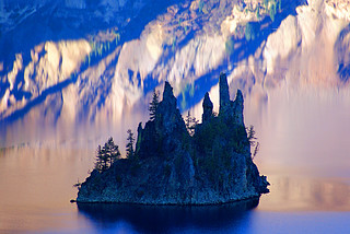 Phantom Ship in crater lake national park | by Kirby Aquino