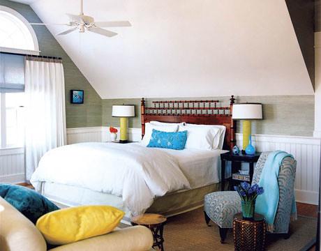 Frank Roop frank roop: colorful beachy nantucket bedroom: white + blu… | flickr