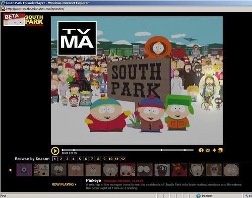 free south park episode player
