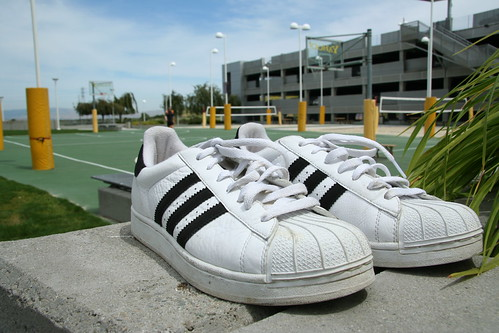 David Filo's signature Adidas sneaks | by Yahoo Inc
