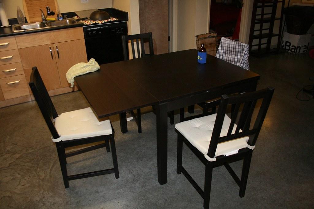 Ikea Bjursta Ikea Bjursta Extendable Table And Bench Added 6