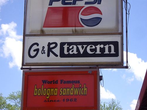 G&R Tavern Sign | by swampkitty