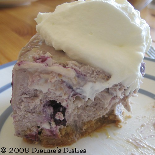 Blueberry Cheesecake | by Dianne's Dishes