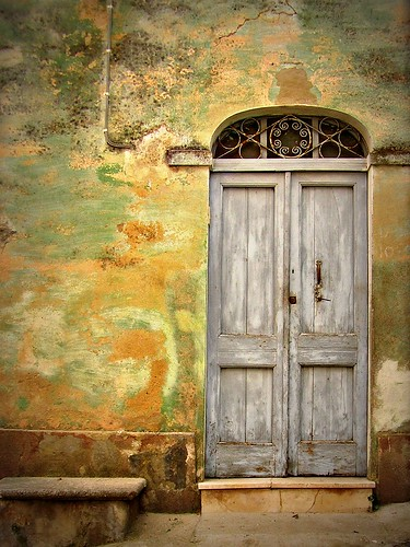 Grey door | by fiammetta53