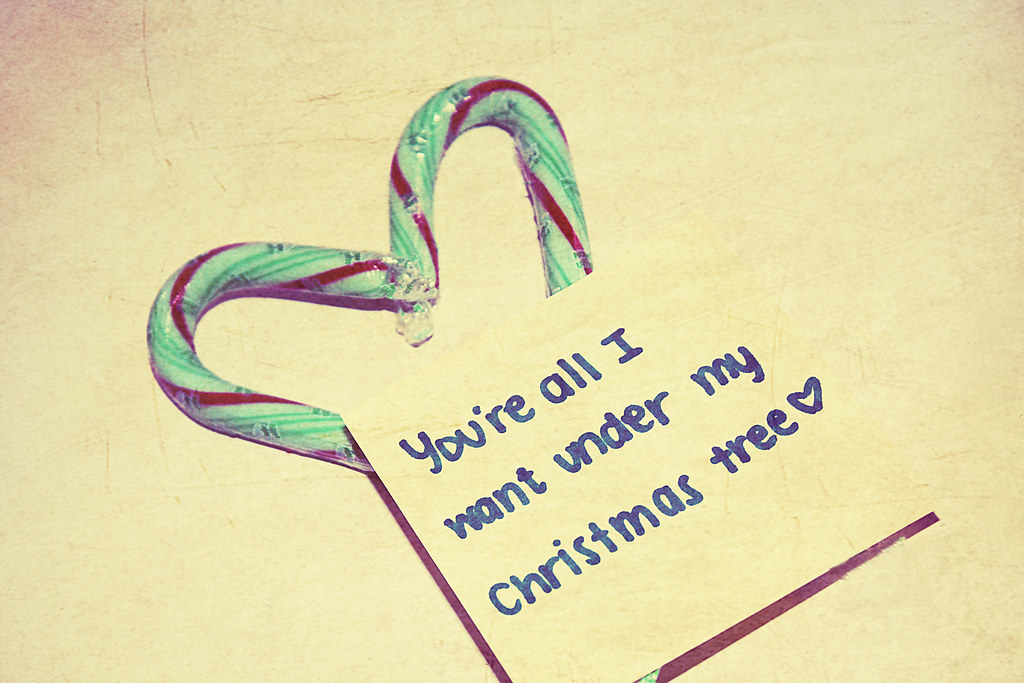 you're all i want under my christmas tree.   Christmas Count…   Flickr