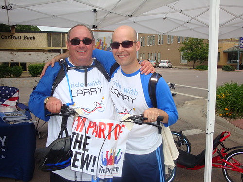 John and Brian Alexander are part of the Victory Crew! | by Davis Phinney Foundation