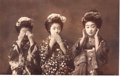 Geishas - See No Evil; Speak No Evil; Hear No Evil | by Vintage Lulu