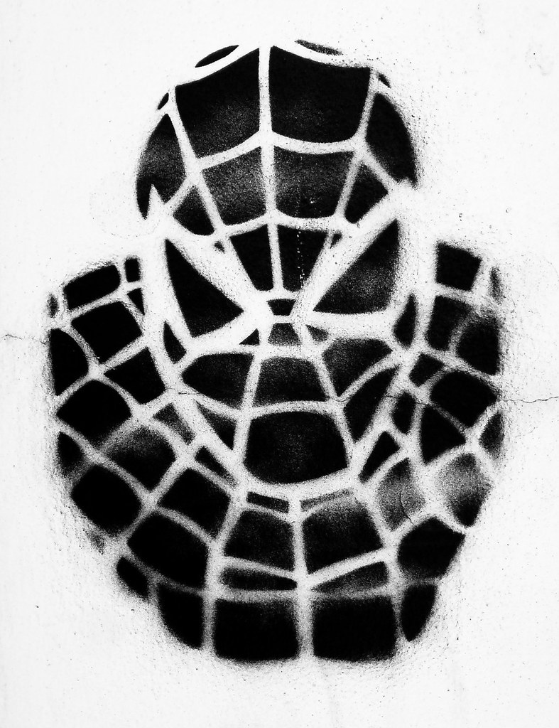 Spiderman | Very slick stencil found in a friendly neighbour… | Flickr