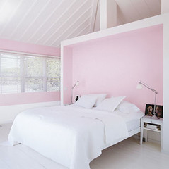 soft pink bedroom | by coco+kelley