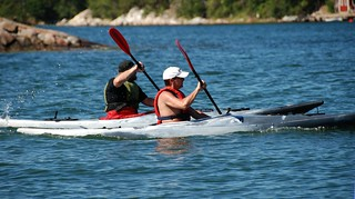 Sightseeing + exercise + orienteering = kayaking | by Let Ideas Compete