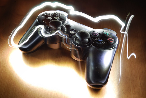 Light Graffiti - PS3 Controller | by artwork_rebel