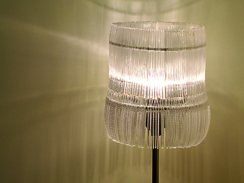 BVD Waste Not Lamp - made from recycled plastic knives | by Inhabitat