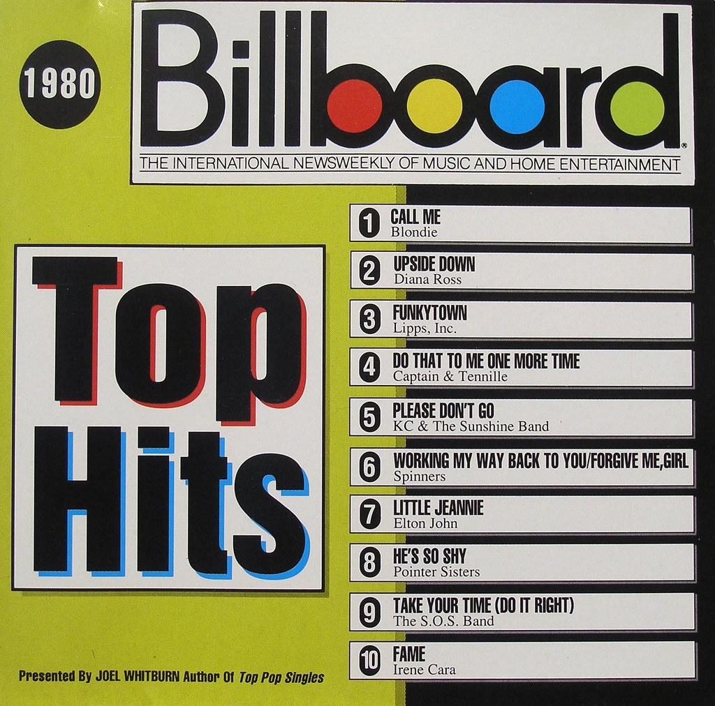 100 Top Chart Billboard: cdcovers/disco/billboard top hits 1980.jpg | 777777777777 | Jason ,Chart