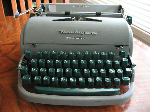 "Remington Quiet-Riter, aka ""Moses"" c. 1952 