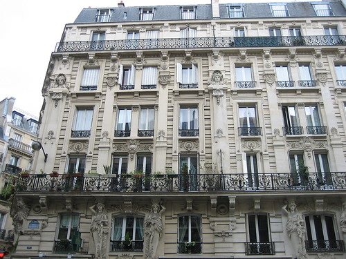 apartment building on rue de rennes tracyelaine flickr. Black Bedroom Furniture Sets. Home Design Ideas