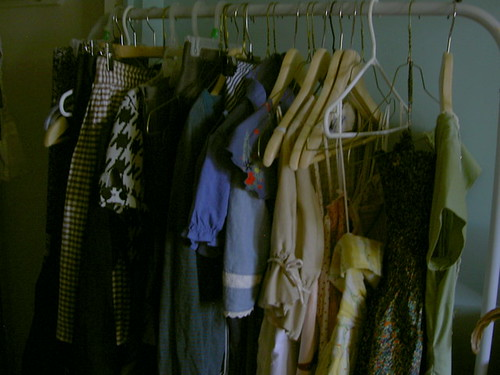 Clothes rack | by blueberrypaste