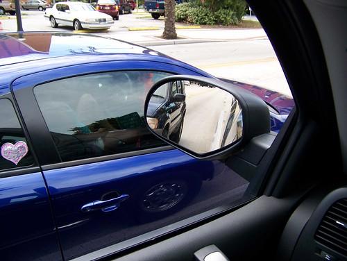 naked girls flashing in a car