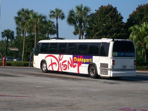 Disney TMC RTS Bus | One of the old TMC RTS buses the ...