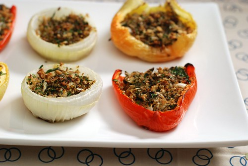 Stuffed Peppers and Onions | by anjuli_ayer