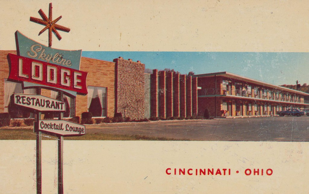 Skyline Lodge Motel - Cincinnati, Ohio