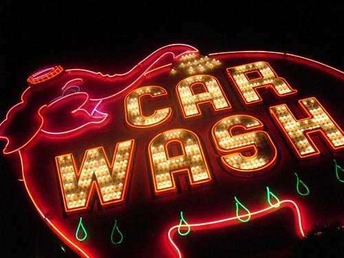 Super Wash Car Wash Logo