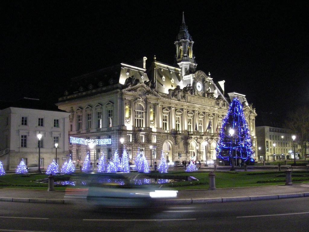 Mairie de tours et place jean jaurès la mairie de tours avu2026 flickr