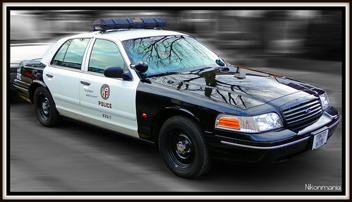 LAPD Police Car | This was parked outside my house ...