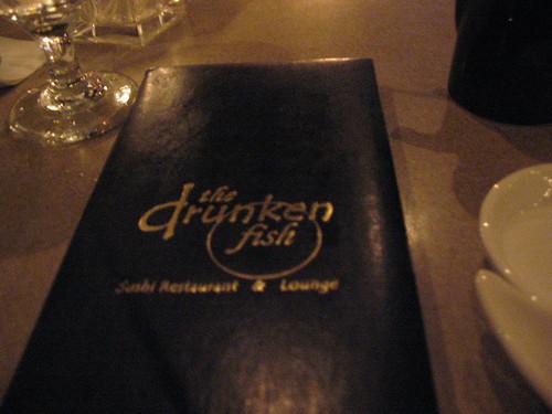 Drunken fish drink menu yeah this drink menu is why my for Drunken fish menu
