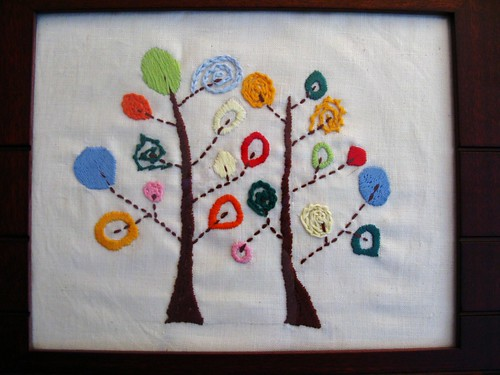 Woolly embroidery finished..... | by Carolyn Ormesher