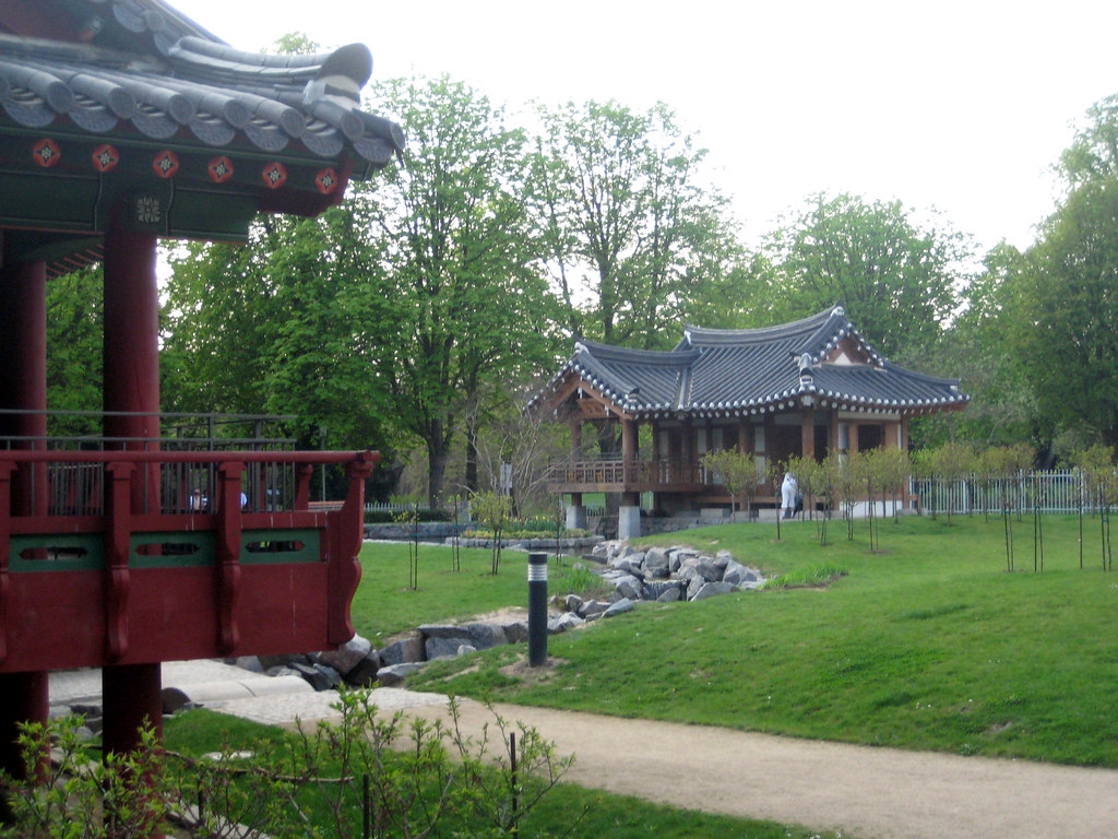grneburgpark korean garden by marc of the devil - Korean Garden
