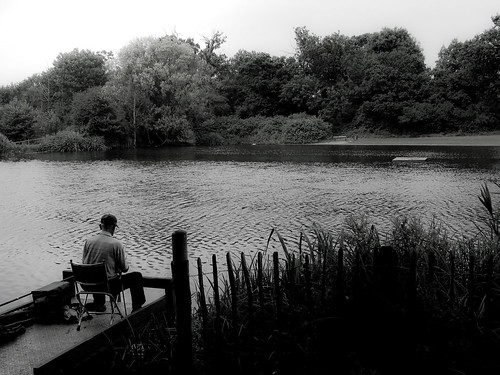 Fishing At Netteswell Pond Netteswell Pond Is An Old Monks Flickr