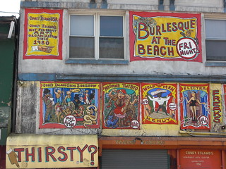 Sideshow banner, Coney Island | by julie_catherine