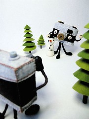 Photo shoot 2 -with a snowman | by hine