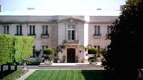 Beverly Hillbillies Mansion Front Lawn Shot 1987 Flickr