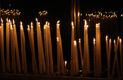 Candles in Lourdes | by Lawrence OP