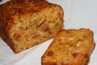 Sundried Tomato, Leek and Carrot Loaf | by tapenade