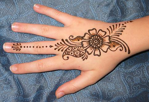 Floral Hand Henna Design Lisa Flickr