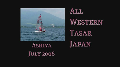 The 2006 All Western Tasar Japan Regatta