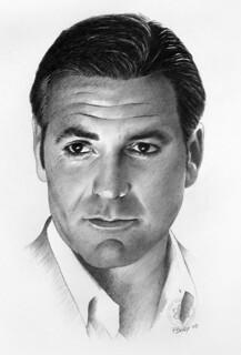 George Clooney   Penci...