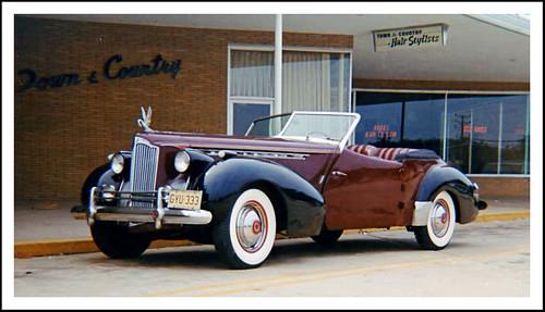 Packard Darrin My First Classic Car Shot Flickr