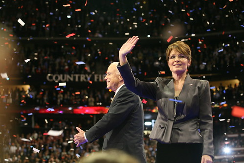 Sen. John McCain and Gov. Sarah Palin | by NewsHour