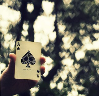 The Ace of Spades | by ~aspidistra~